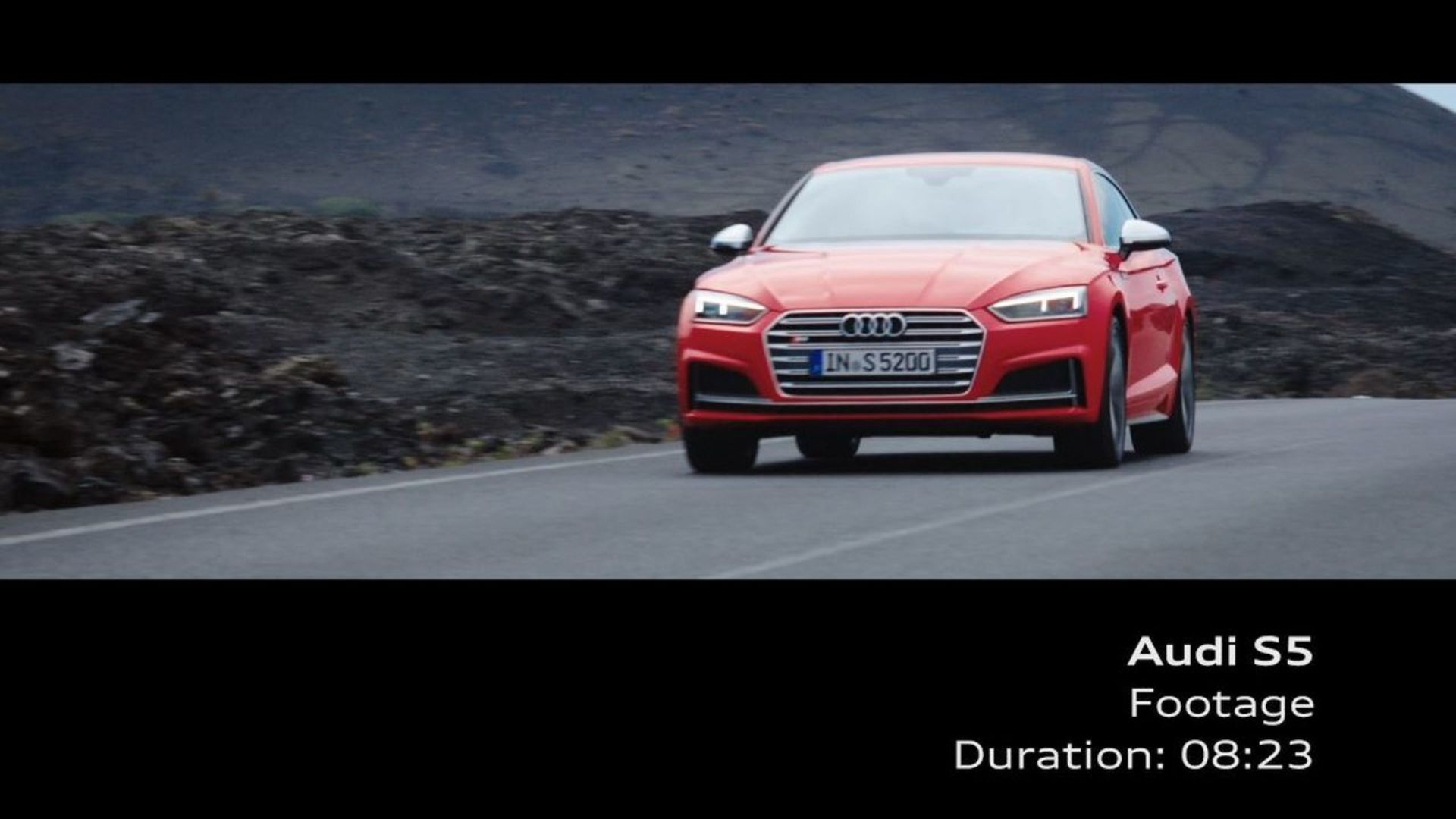 Audi S5 Coupé – Footage