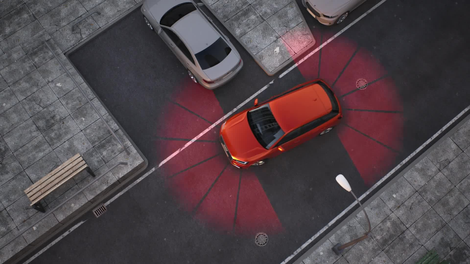 Audi Q2 - Animation park assist