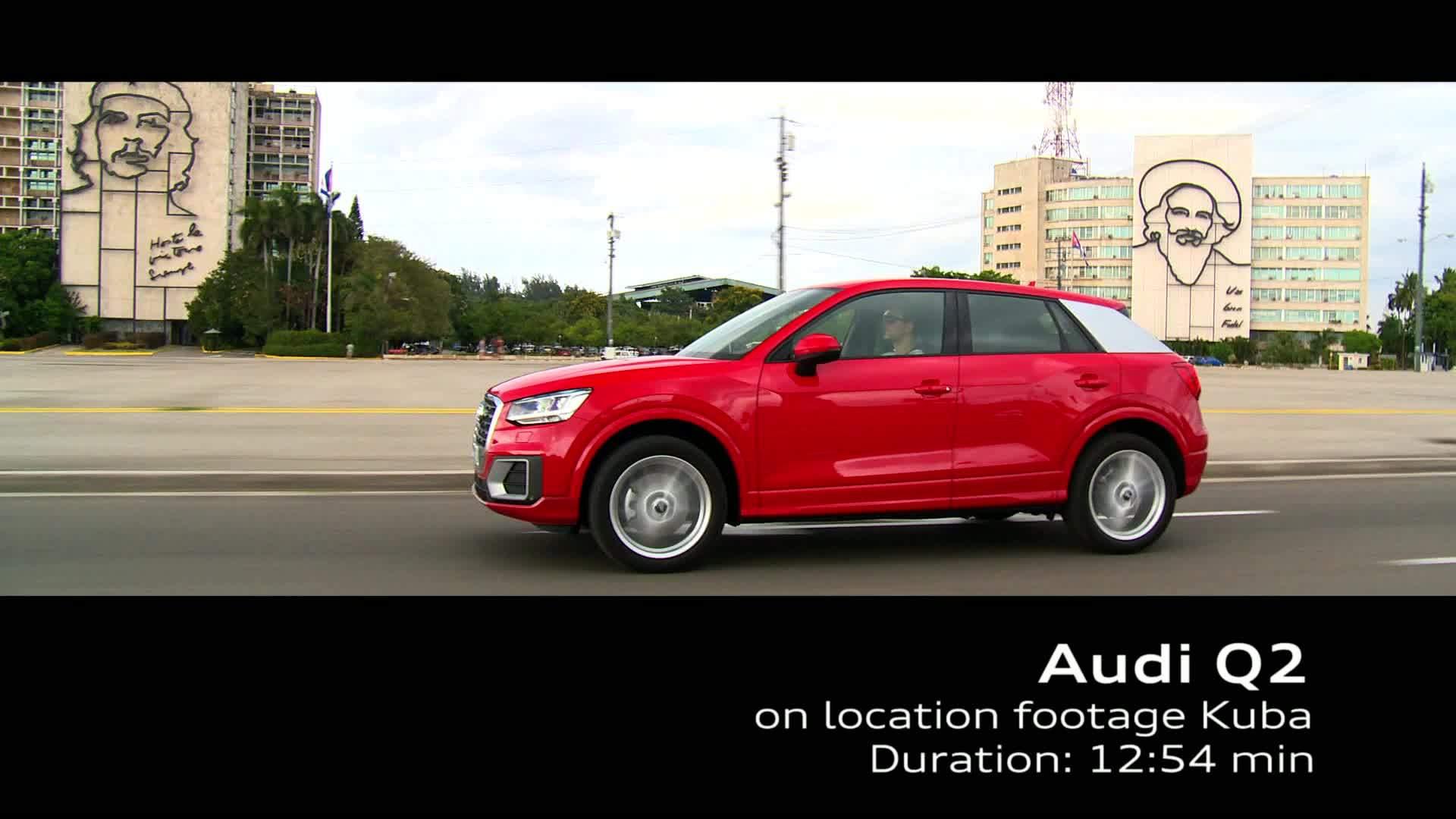 Audi Q2 - Footage Cuba