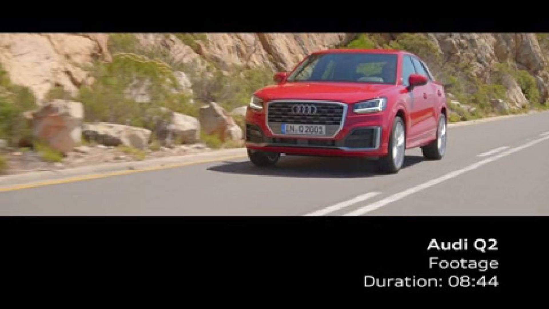 Audi Q2 - Footage Tango Red
