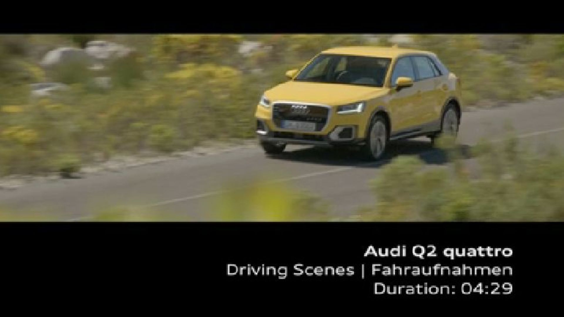 Audi Q2 - Footage Vegas Yellow