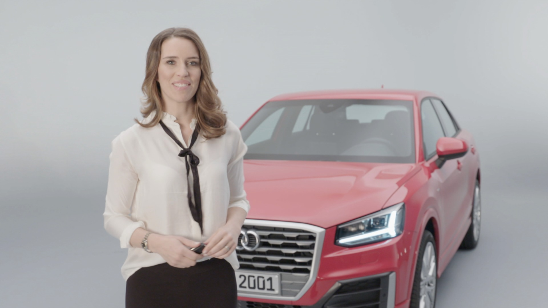 Exclusive presentation of the new Audi Q2