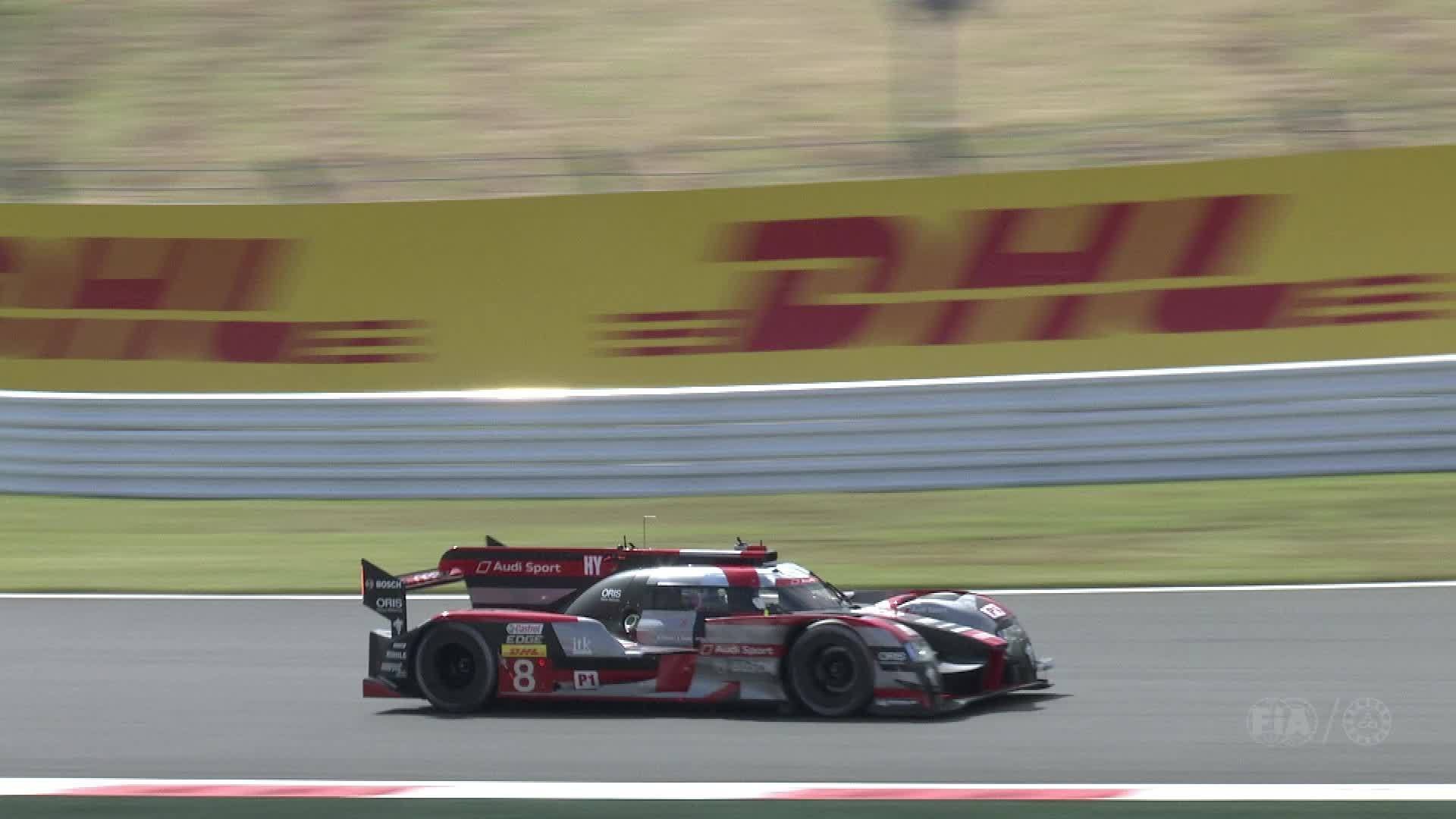 Audi WEC Fuji 2016 – Footage