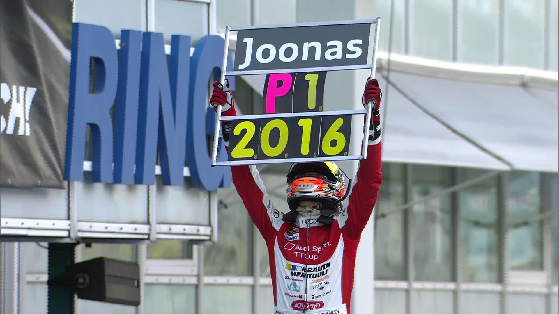 Audi Sport TT Cup: Lappalainen holt sich den Titel