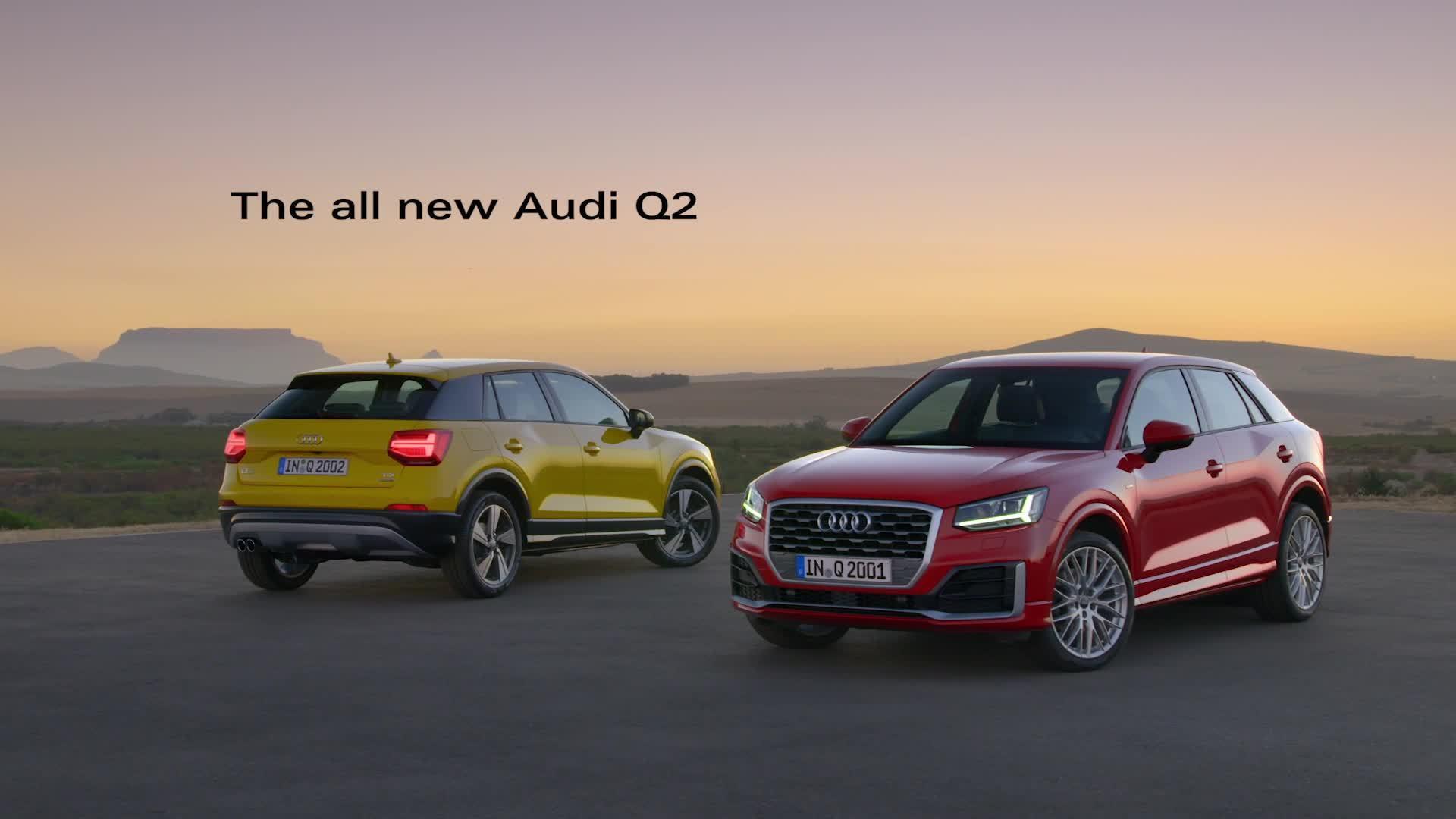 Der Allrounder für die Stadt - Der neue Audi Q2