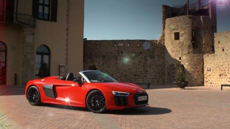 Power auf ganzer Linie: der Audi R8 Spyder