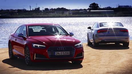 The new Audi A5 Coupé – the aesthete from Ingolstadt