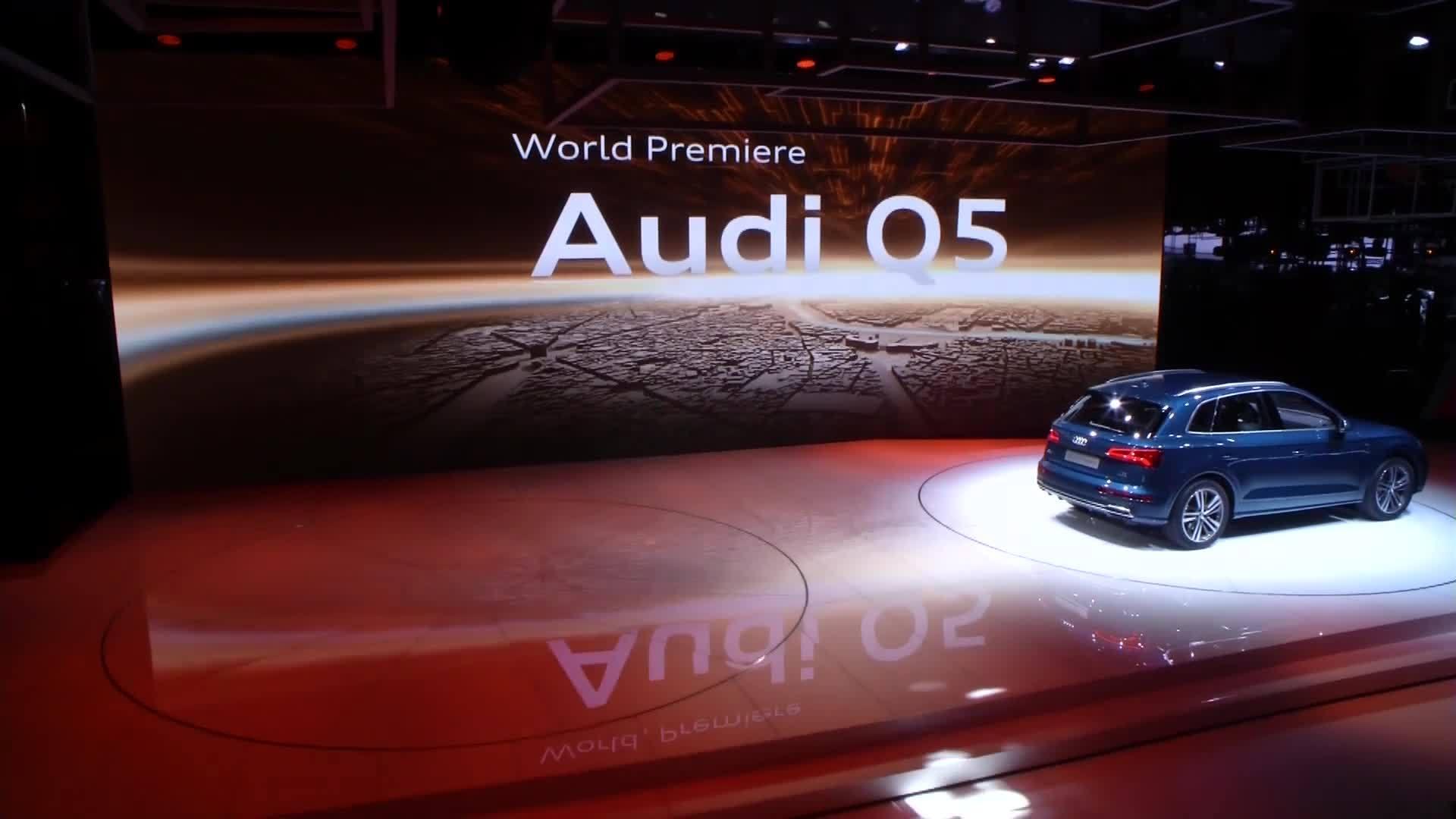 Die Audi-Highlights vom Pariser Automobilsalon