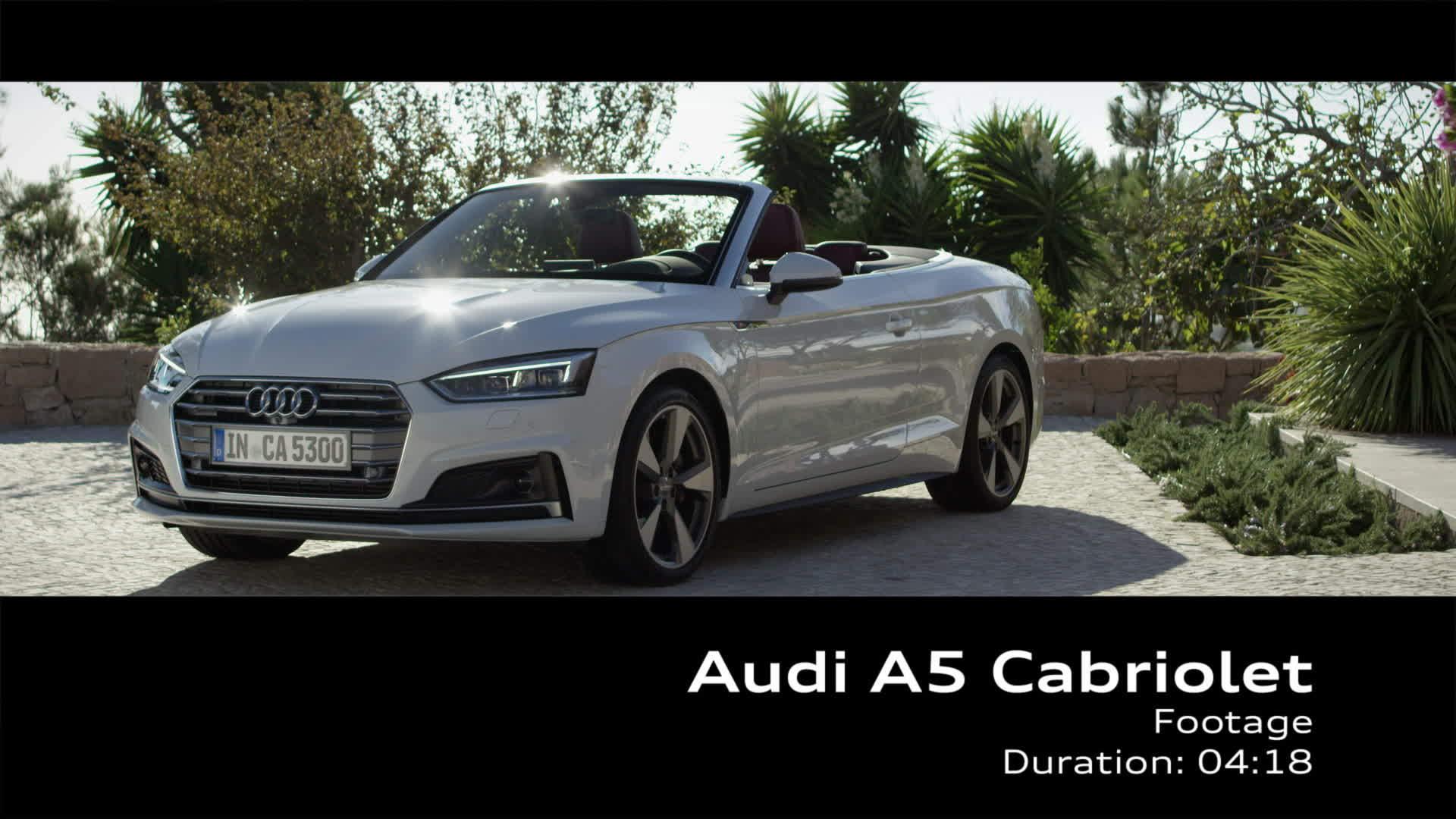 Audi A5 Cabriolet - Footage