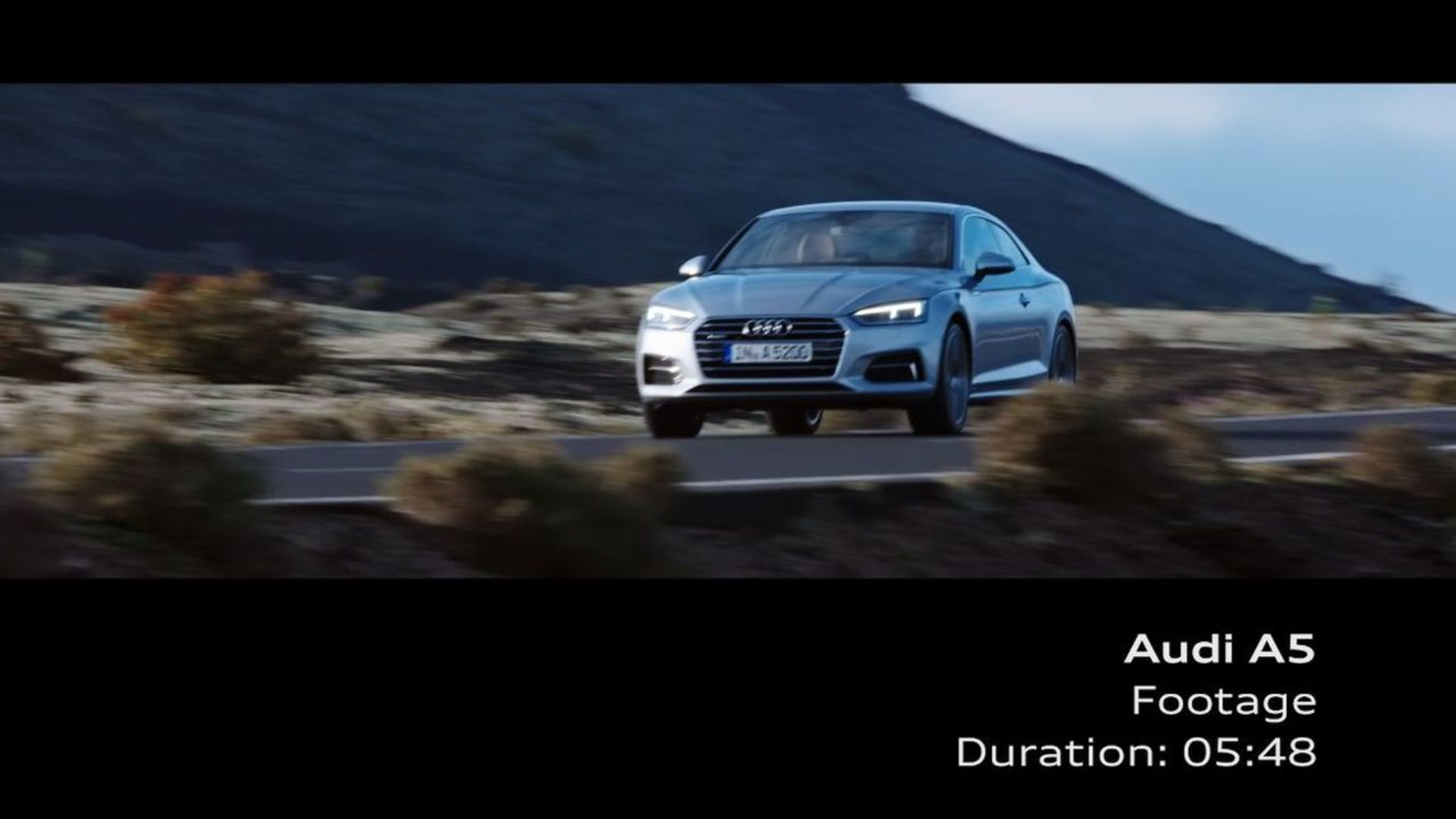 Audi A5 Coupé – Footage