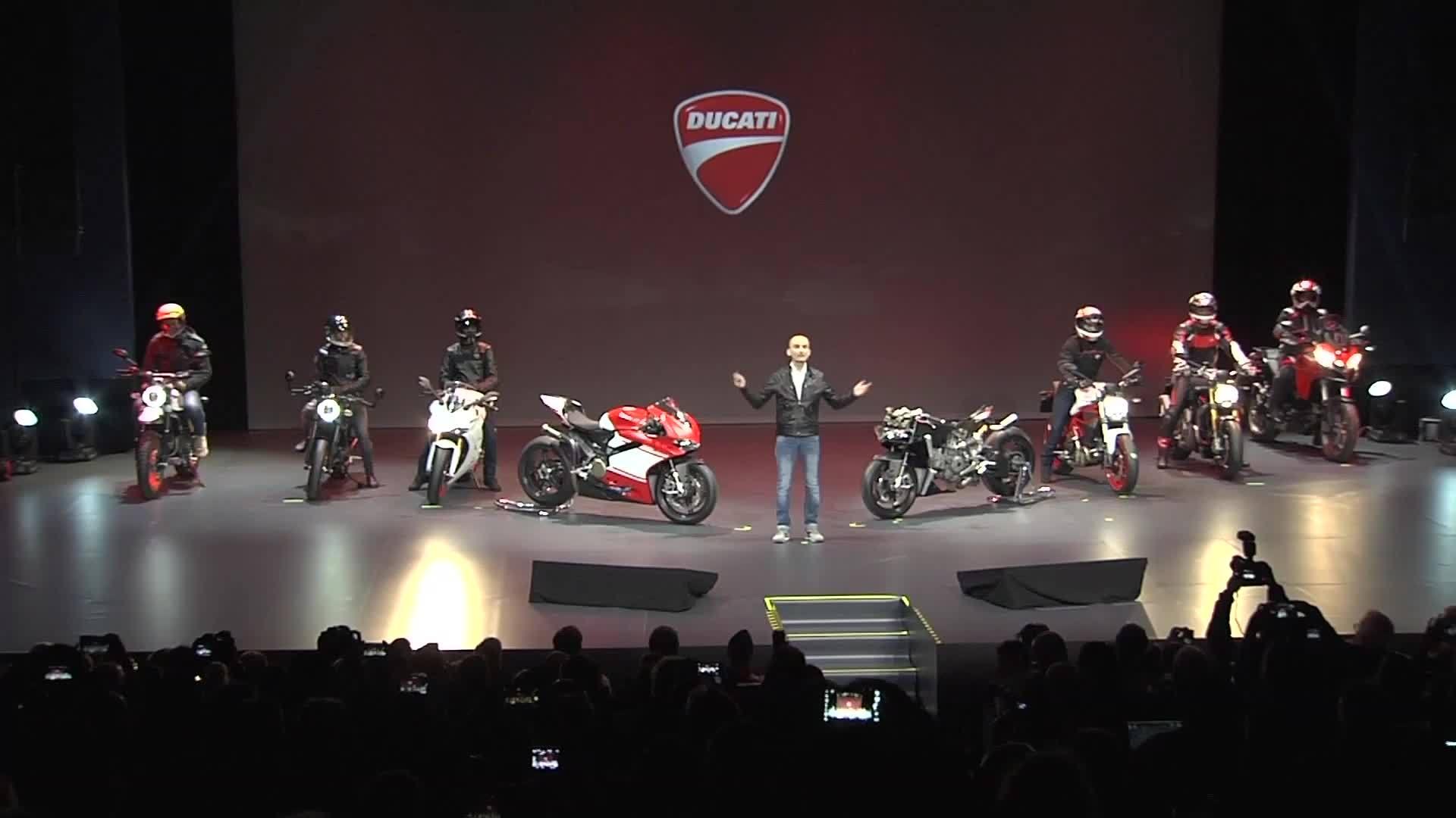 More than red – Ducati Modellpräsentation 2017