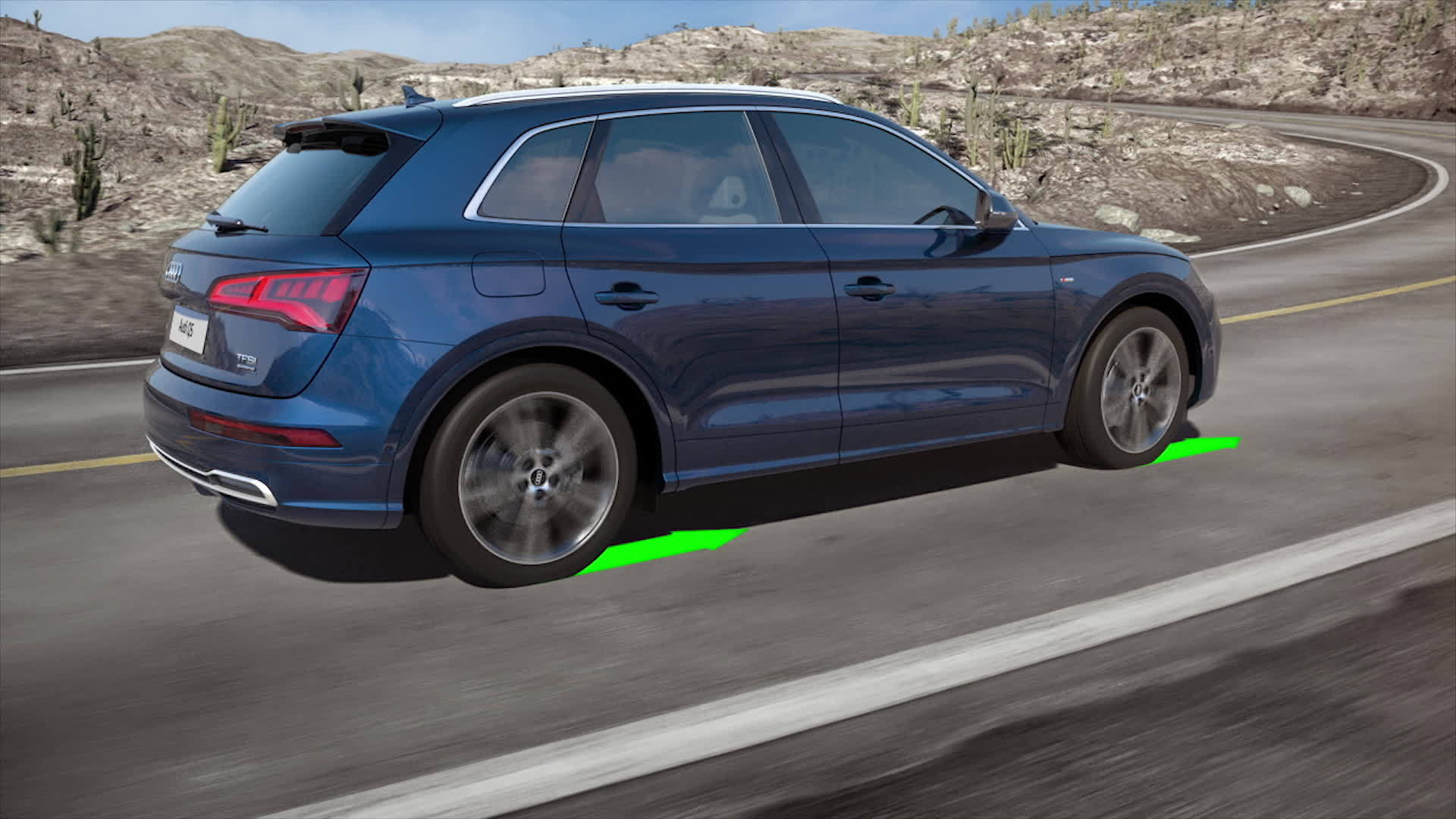 Efficient and dynamic - the quattro drive with ultra technology in the new Audi Q5