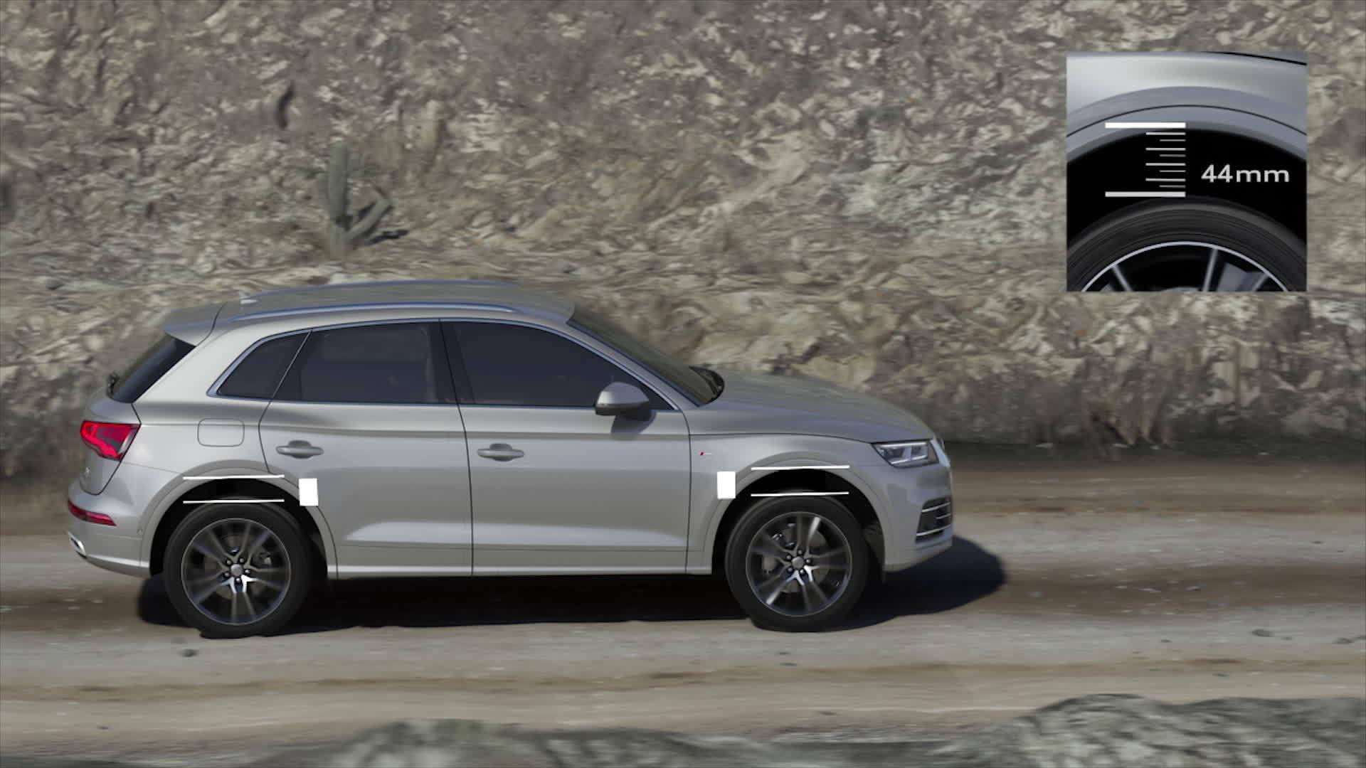 Bereit für nahezu jeden Untergrund - Der Audi Q5 mit adaptive air suspension