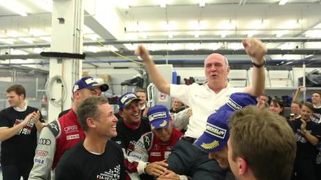 WEC Bahrain: Emotional departure with one-two victory for Audi