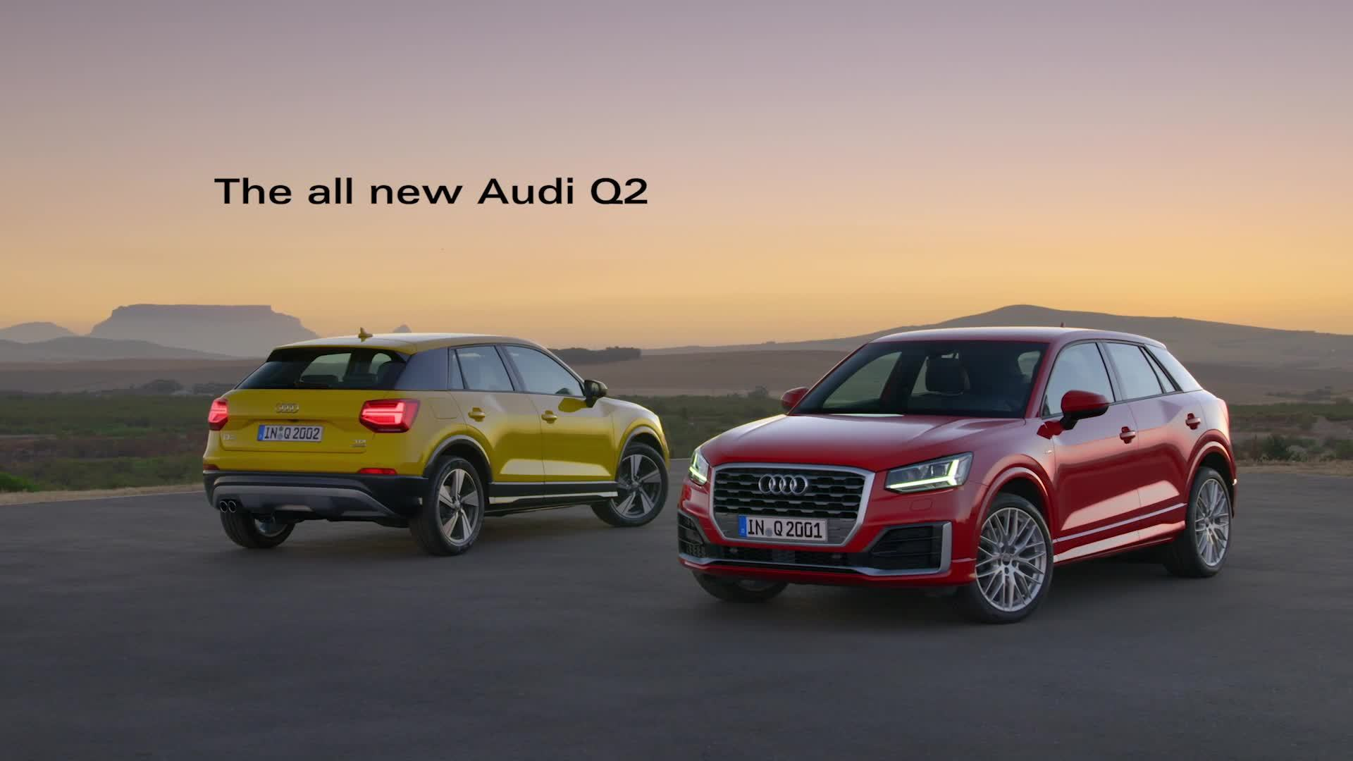 The compact city SUV - The new Audi Q2