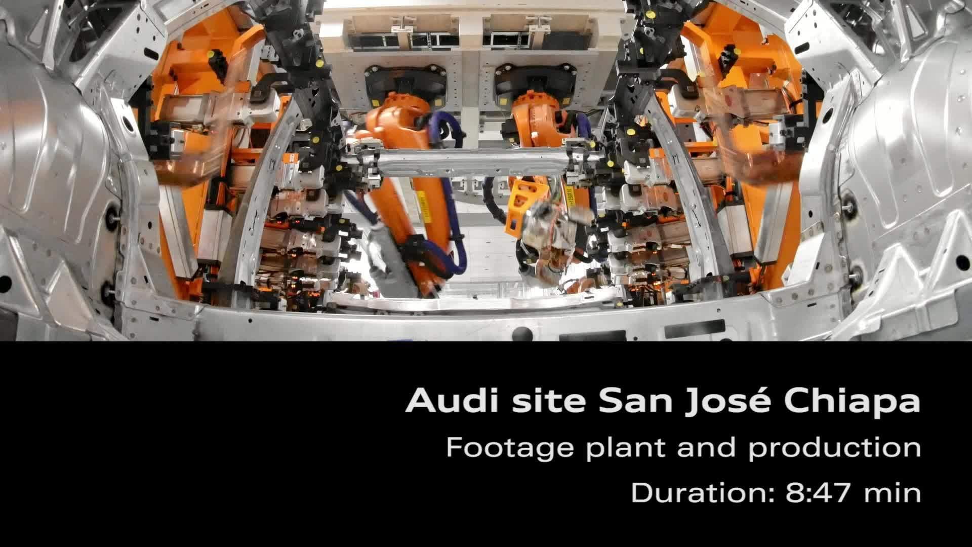 Audi Standort Mexiko – Footage