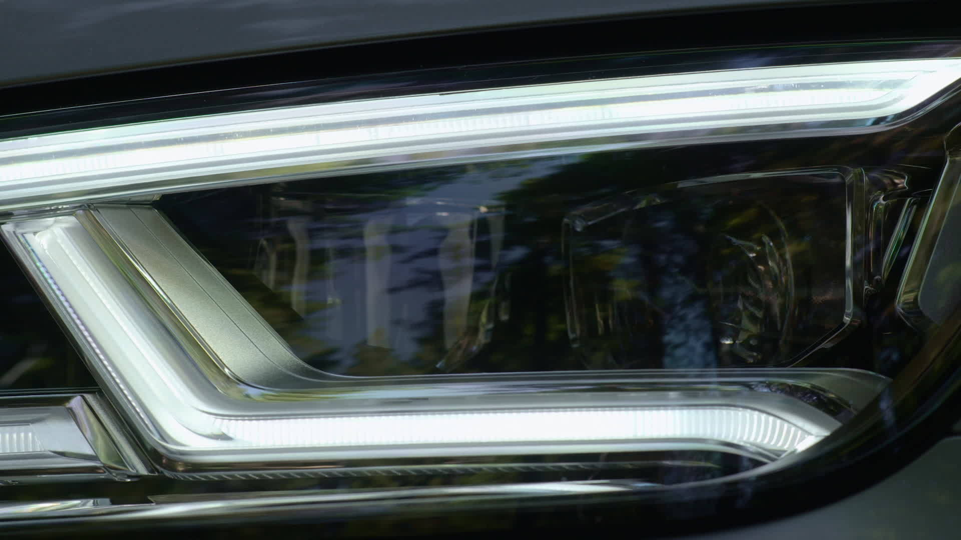 Audi Q5 relies on newest lighting technology