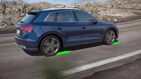 Effizienz und Dynamik - der quattro-Antrieb mit ultra-Technologie im neuen Audi Q5