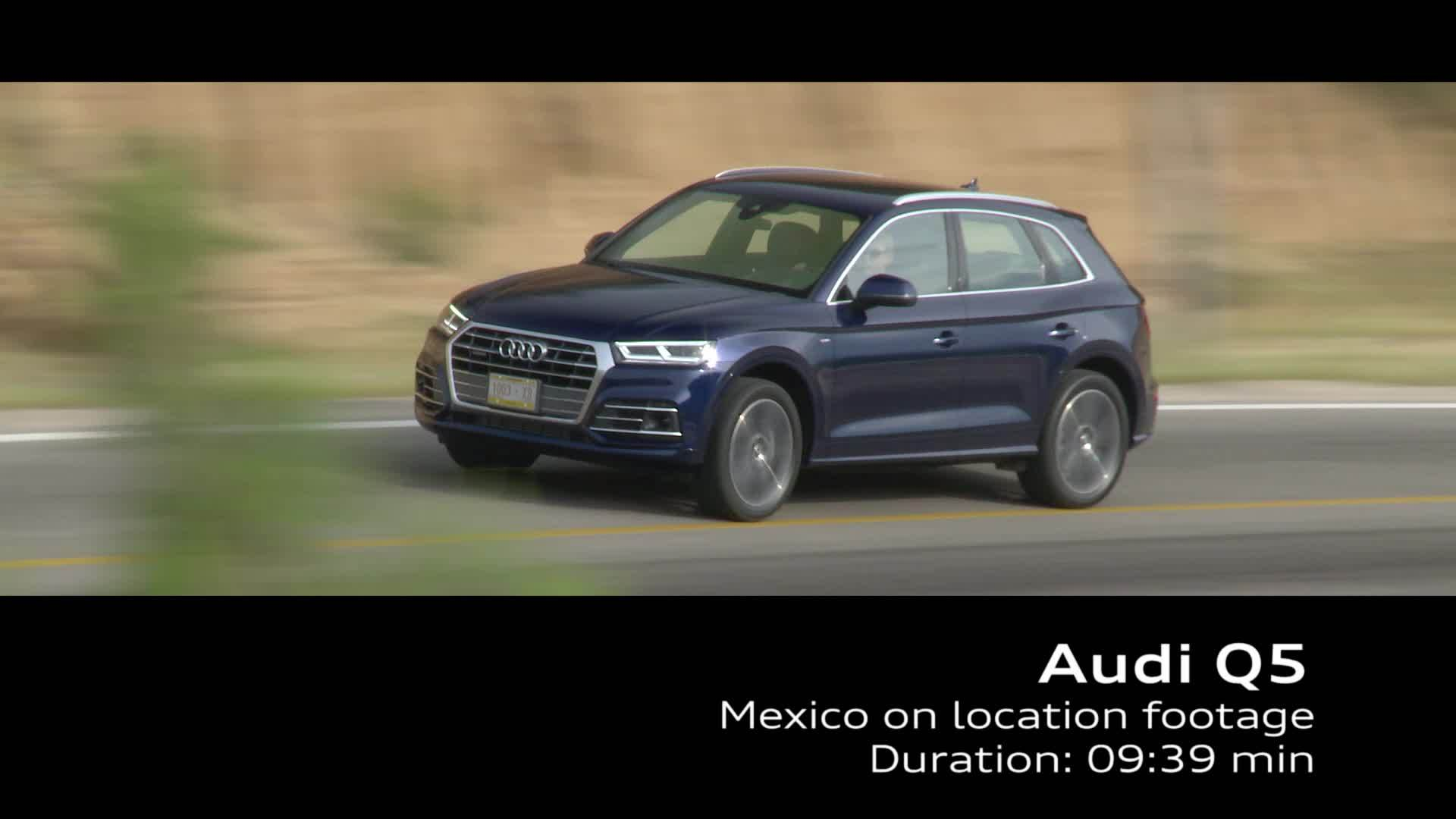 Audi Q5 on Location Footage TFSI