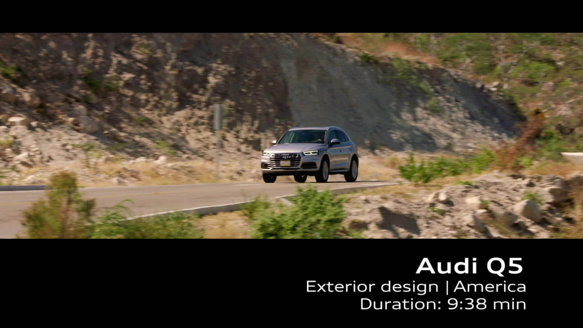 Footage Audi Q5 - U.S. Specifications