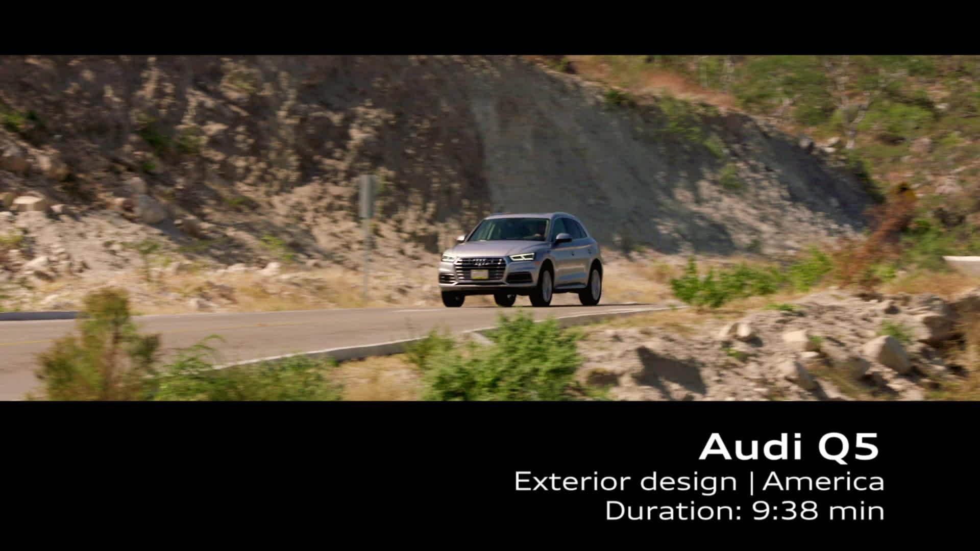 Footage Audi Q5 - U.S. Specifications
