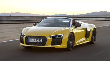 Audi R8 Spyder V10 - Faszination des offenen Fahrens