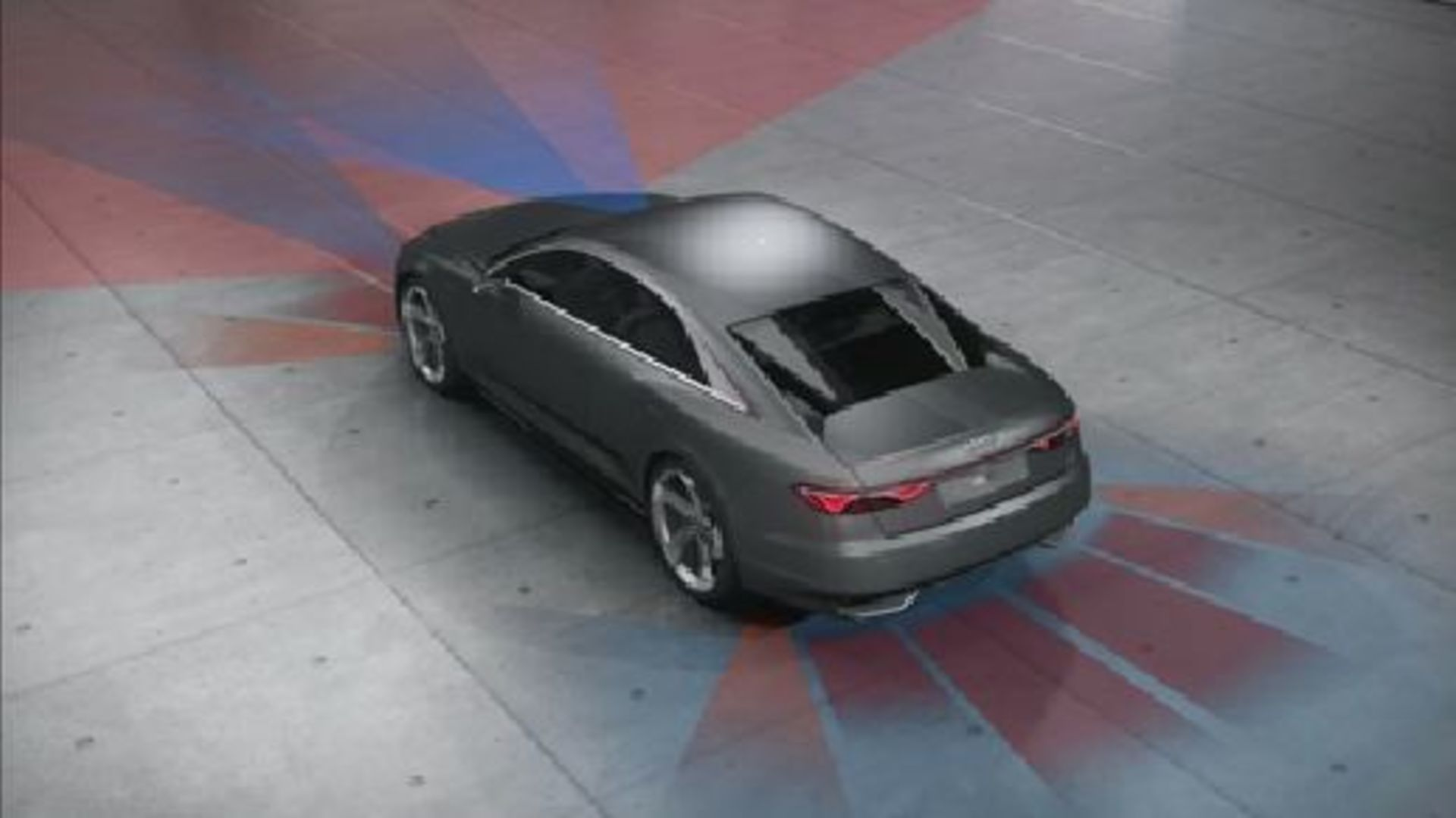 Audi prologue piloted driving - Animation