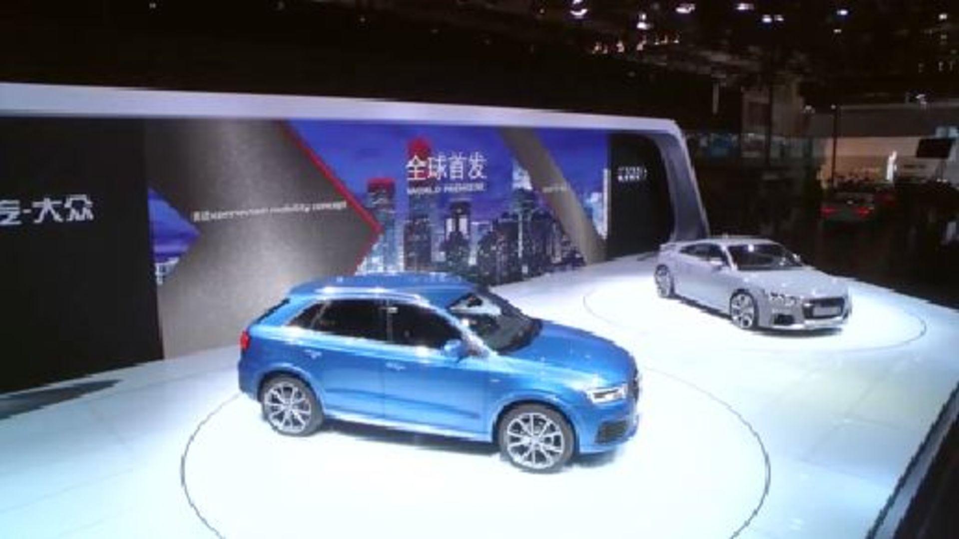 Auto China 2016 in Peking - Die Audi Pressekonferenz