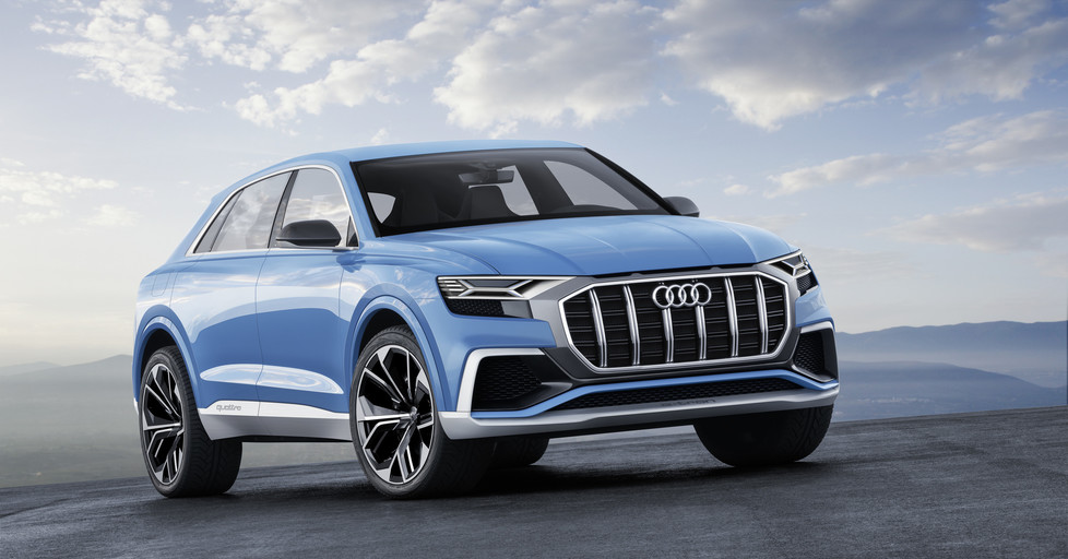 Audi at the Detroit Motor Show: powerful trio kicking off the new year