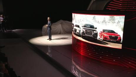 Audi auf der Detroit Motor Show: die Pressekonferenz