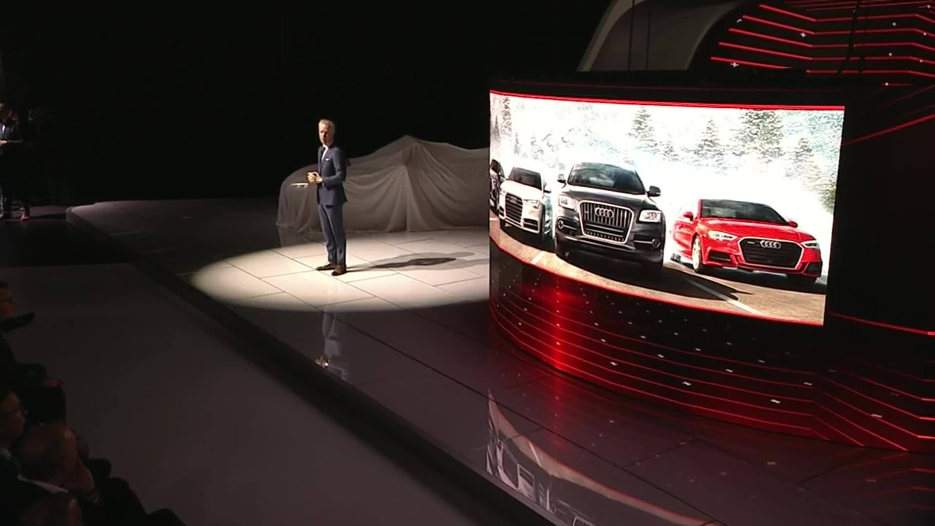 Audi at the Detroit Motor Show: the press conference