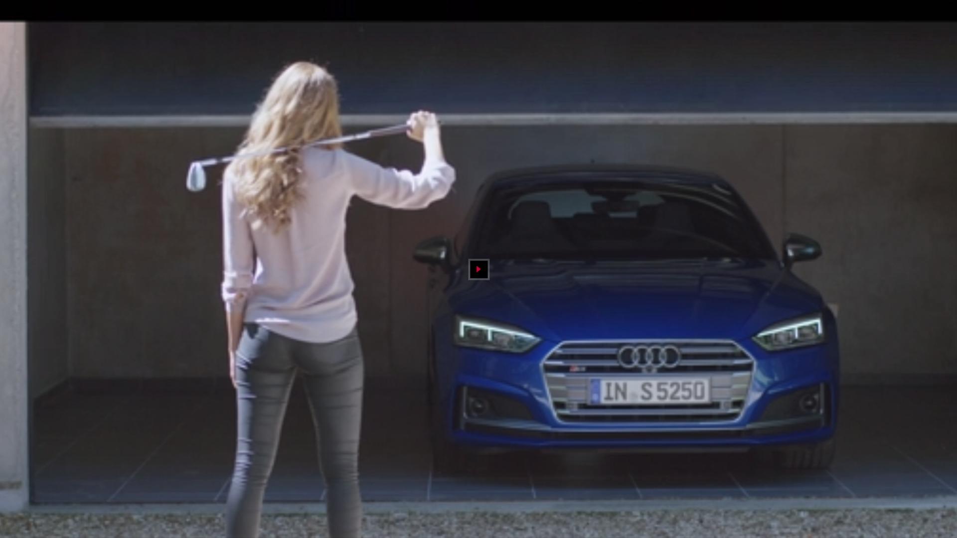 The Audi S5 Sportback
