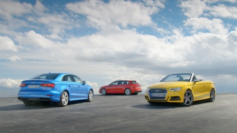 The new Audi A3 family