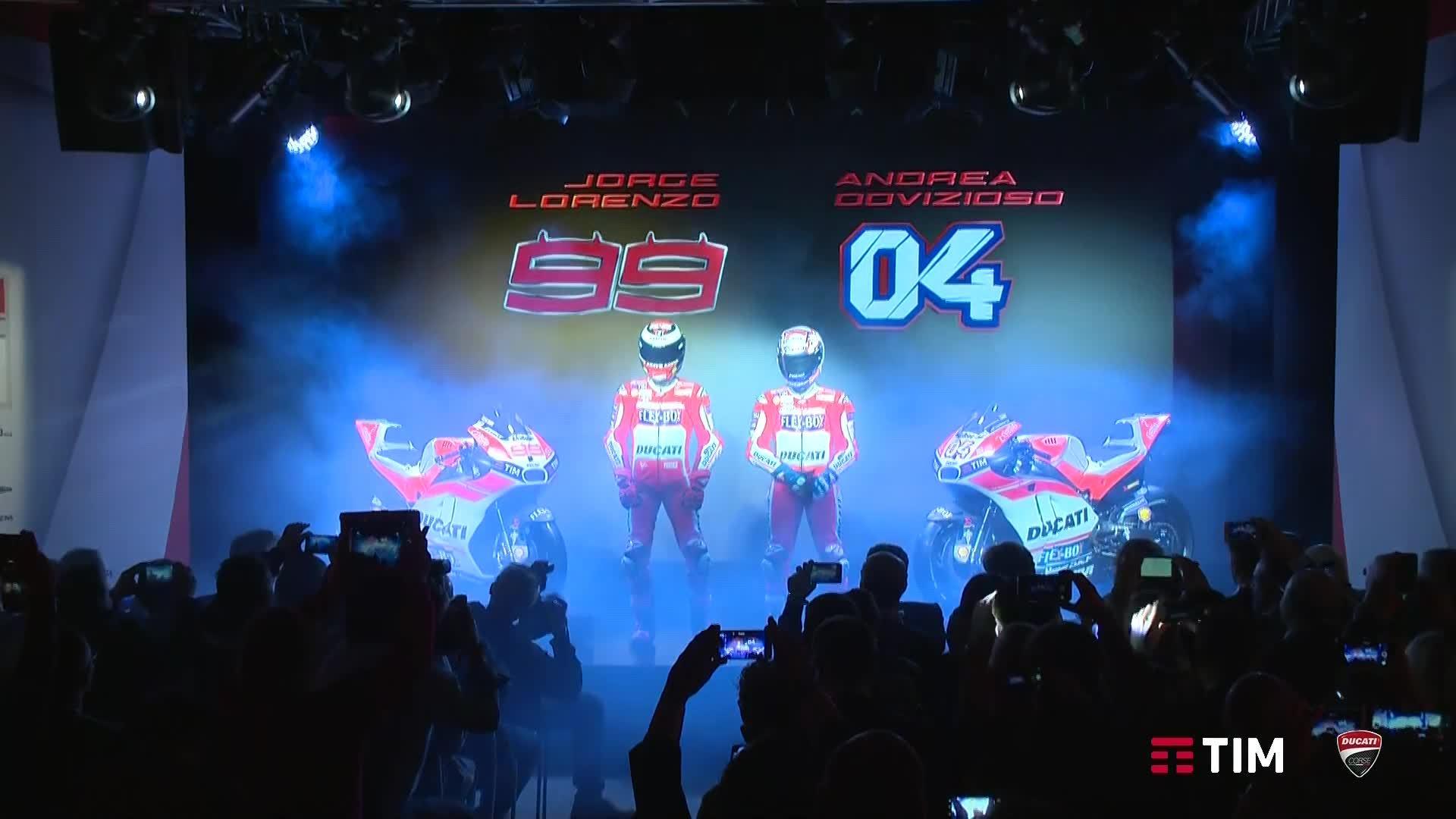 Ducati MotoGP Team Präsenation 2017