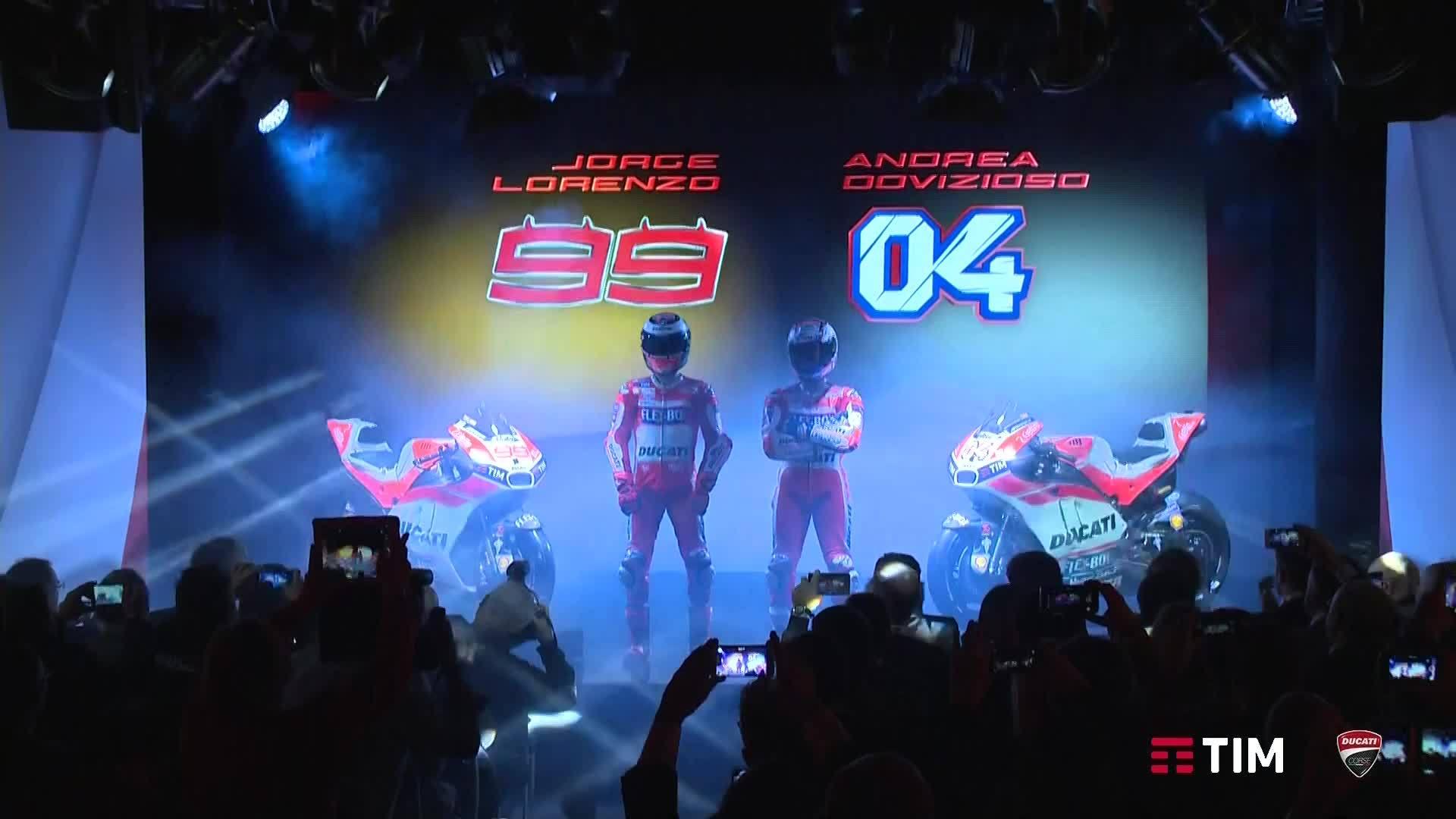 Ducati MotoGP Team Presenation 2017