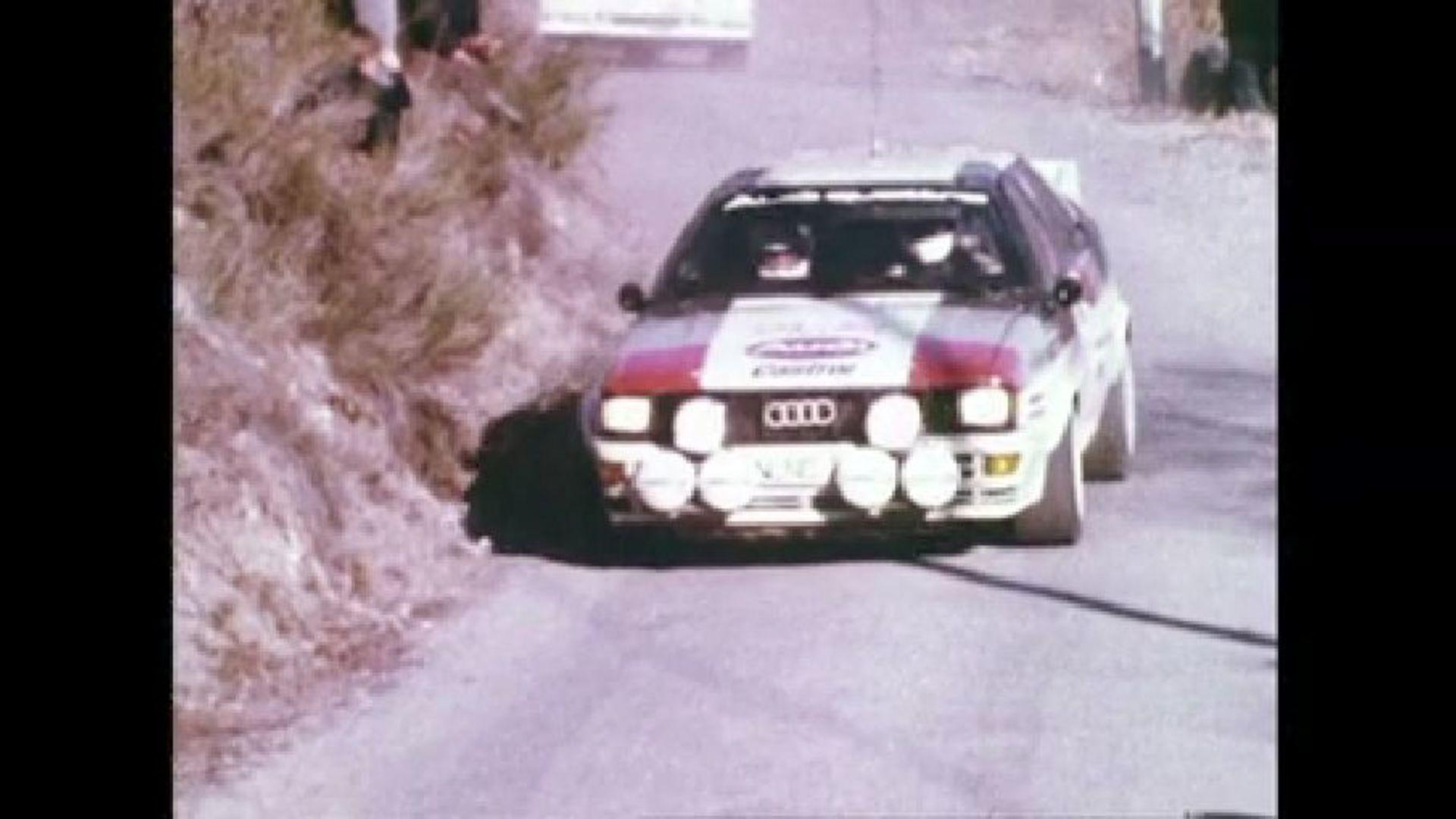 Audi quattro - The Rallye Champion 1982