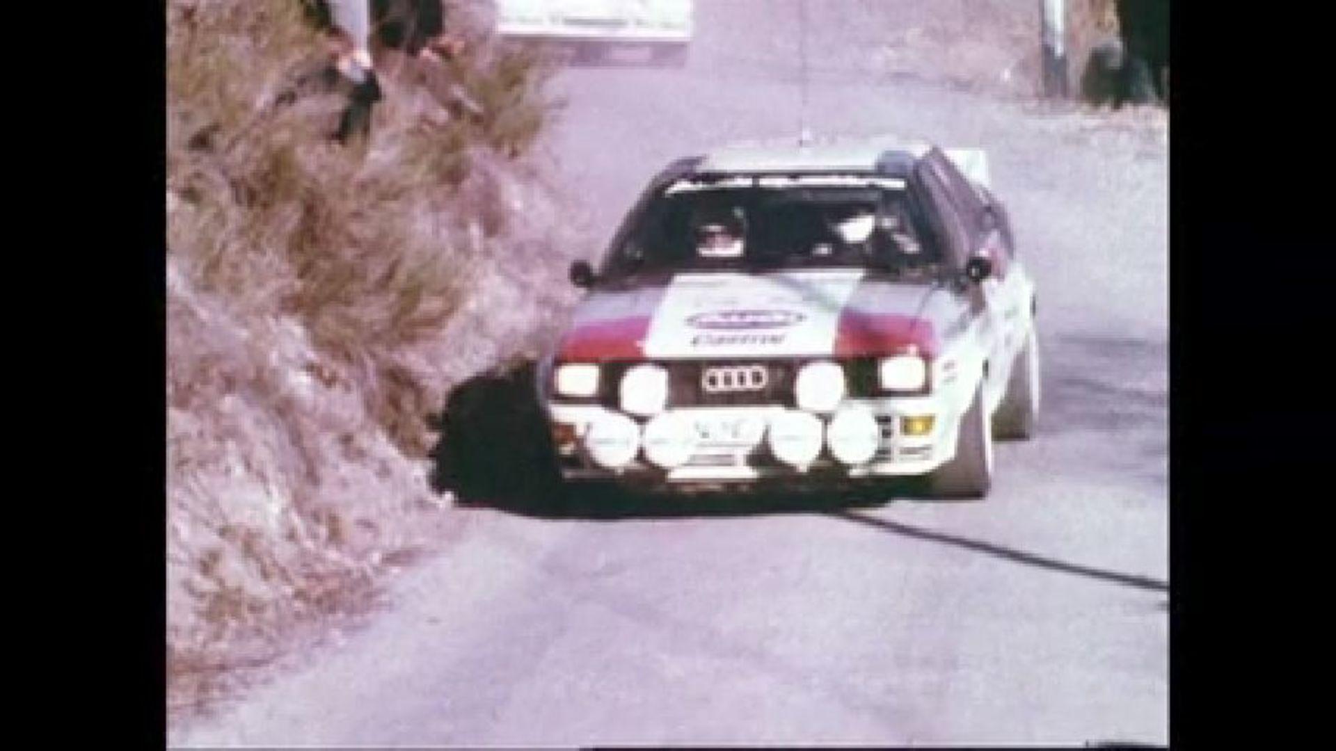 Audi quattro - Der Rallye-Weltmeister von 1982