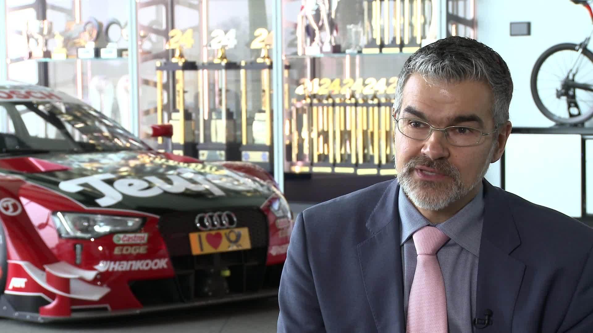 Drei Fragen an Audi Motorsportchef Dieter Gass