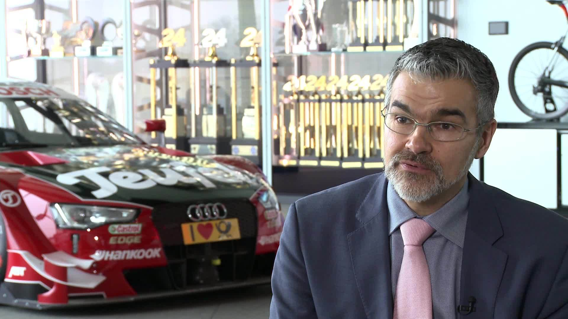 Three questions to the Head of Audi motorsport Dieter Gass
