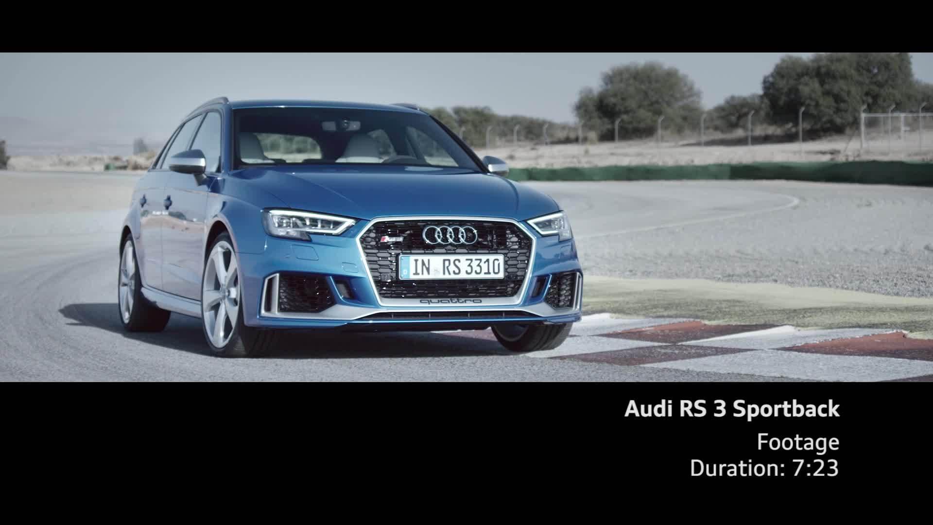 RS 3 Sportback - Footage