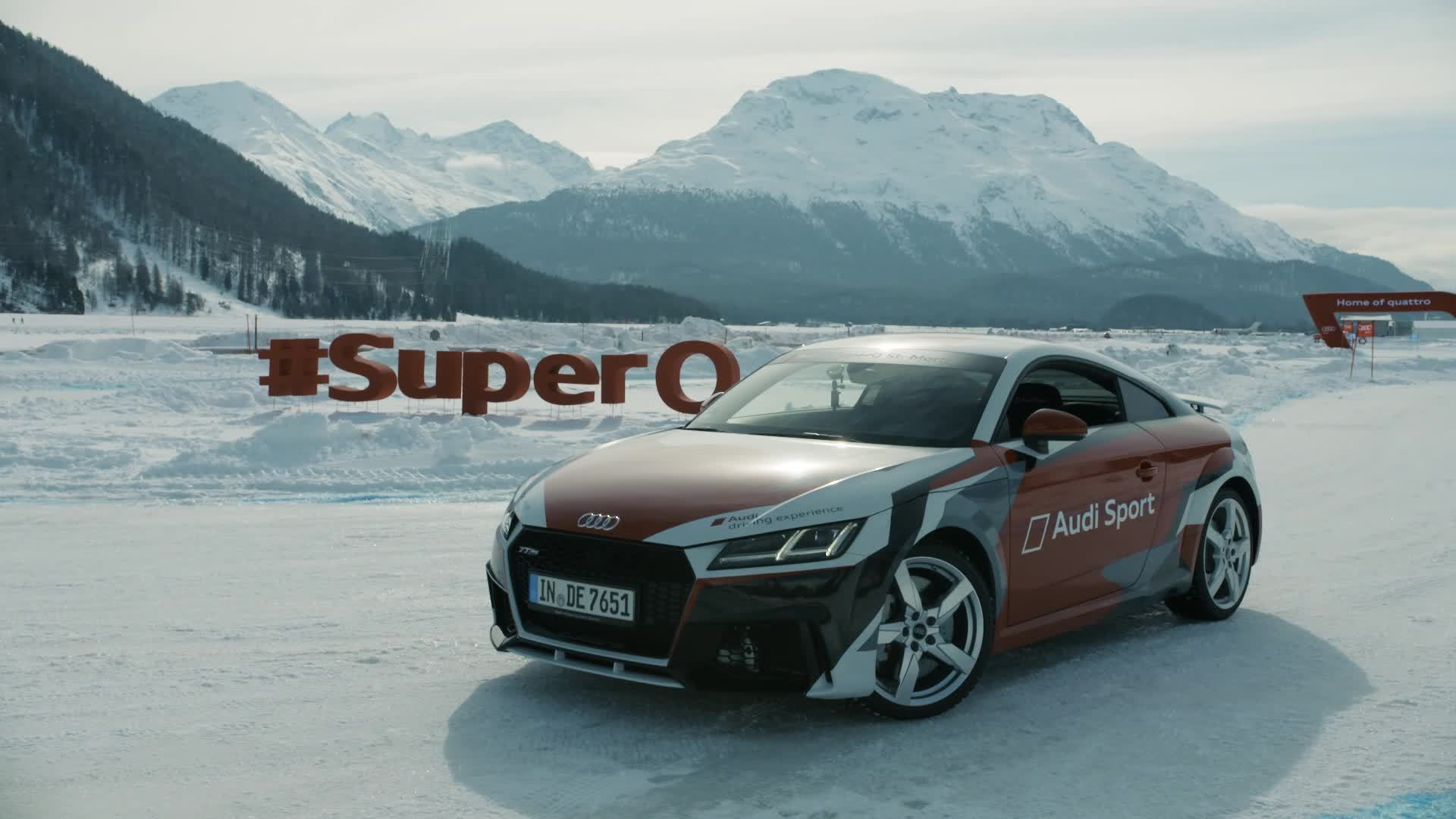 Ski-WM in St. Moritz: Audi #SuperQ Highlights