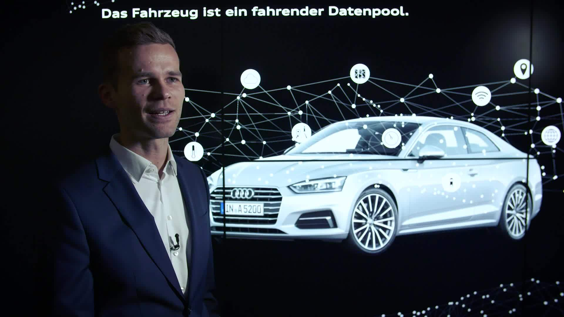 The car-to-x test car fleet: testing of connectivity and data sharing