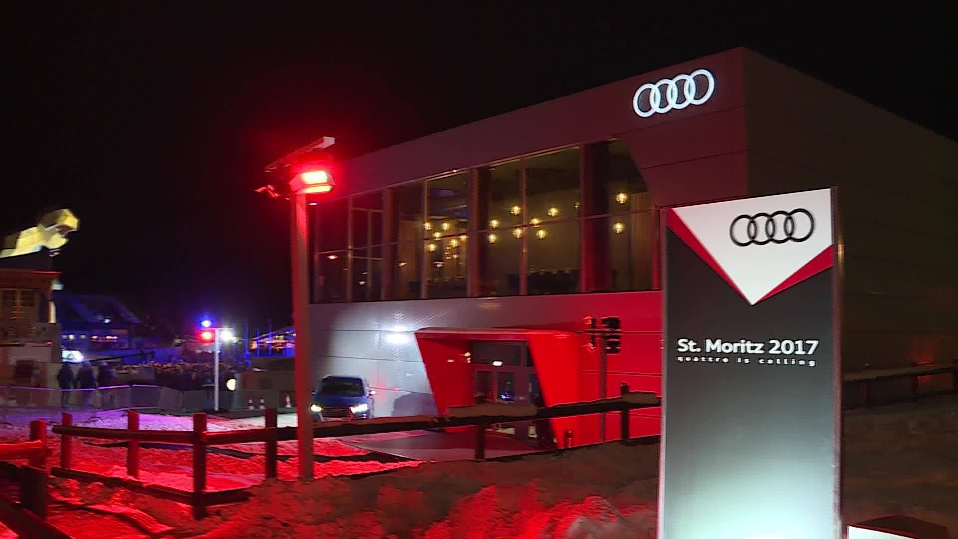 Successful Alpine World Ski Championships for Audi in St. Moritz