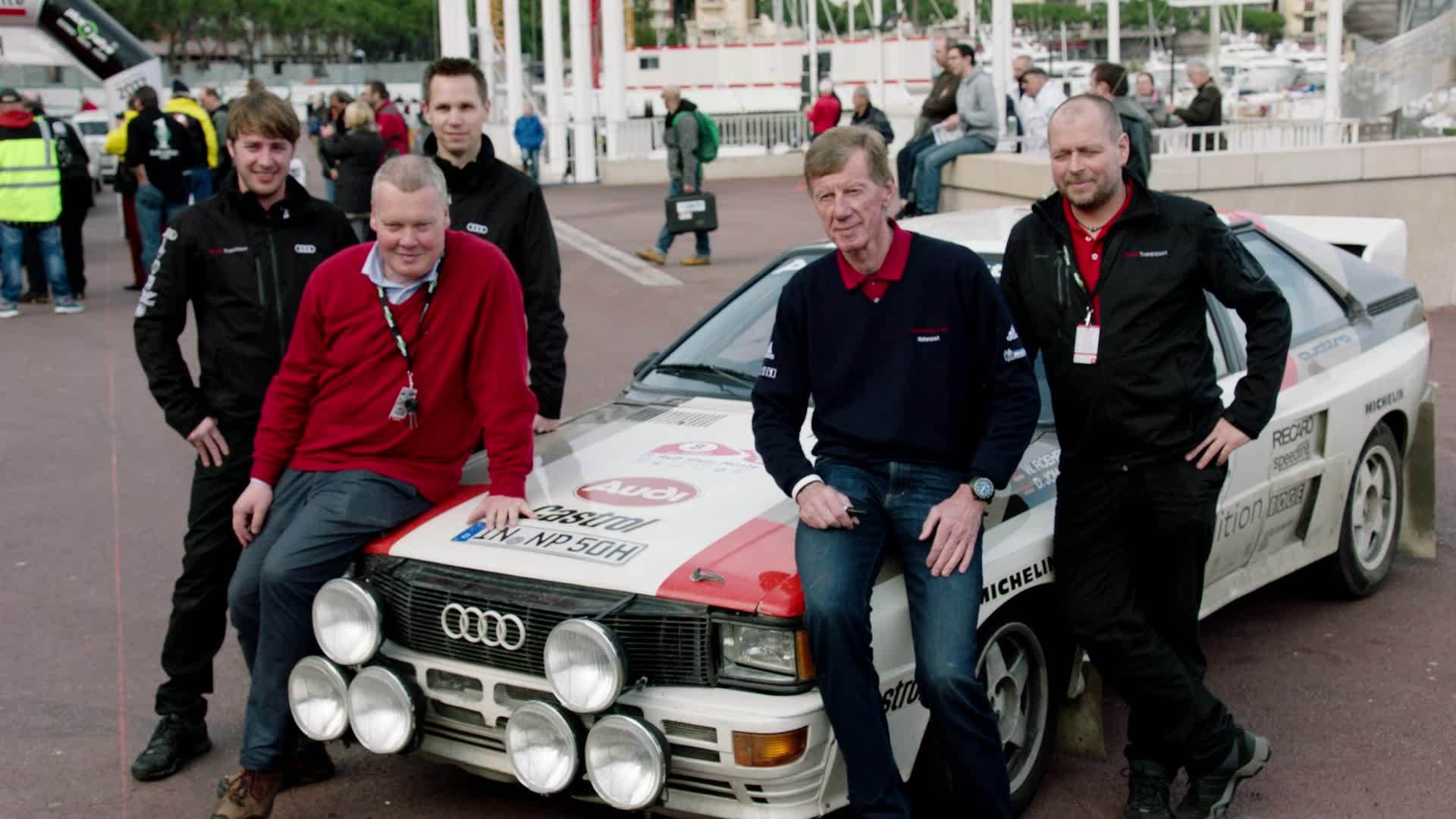 Journey back in time: Walter Röhrl at the AvD Histo-Monte