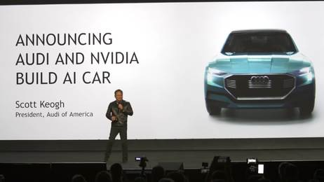 Piloted driving with artificial intelligence: Audi at the CES 2017 in Las Vegas
