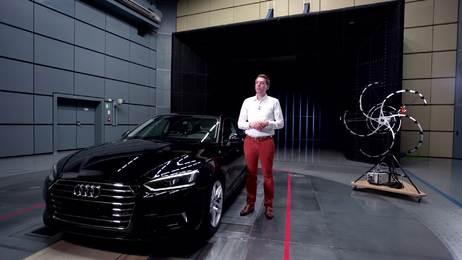 """Audi A5 Coupé - Best-in-class """"Aeroakustik"""""""