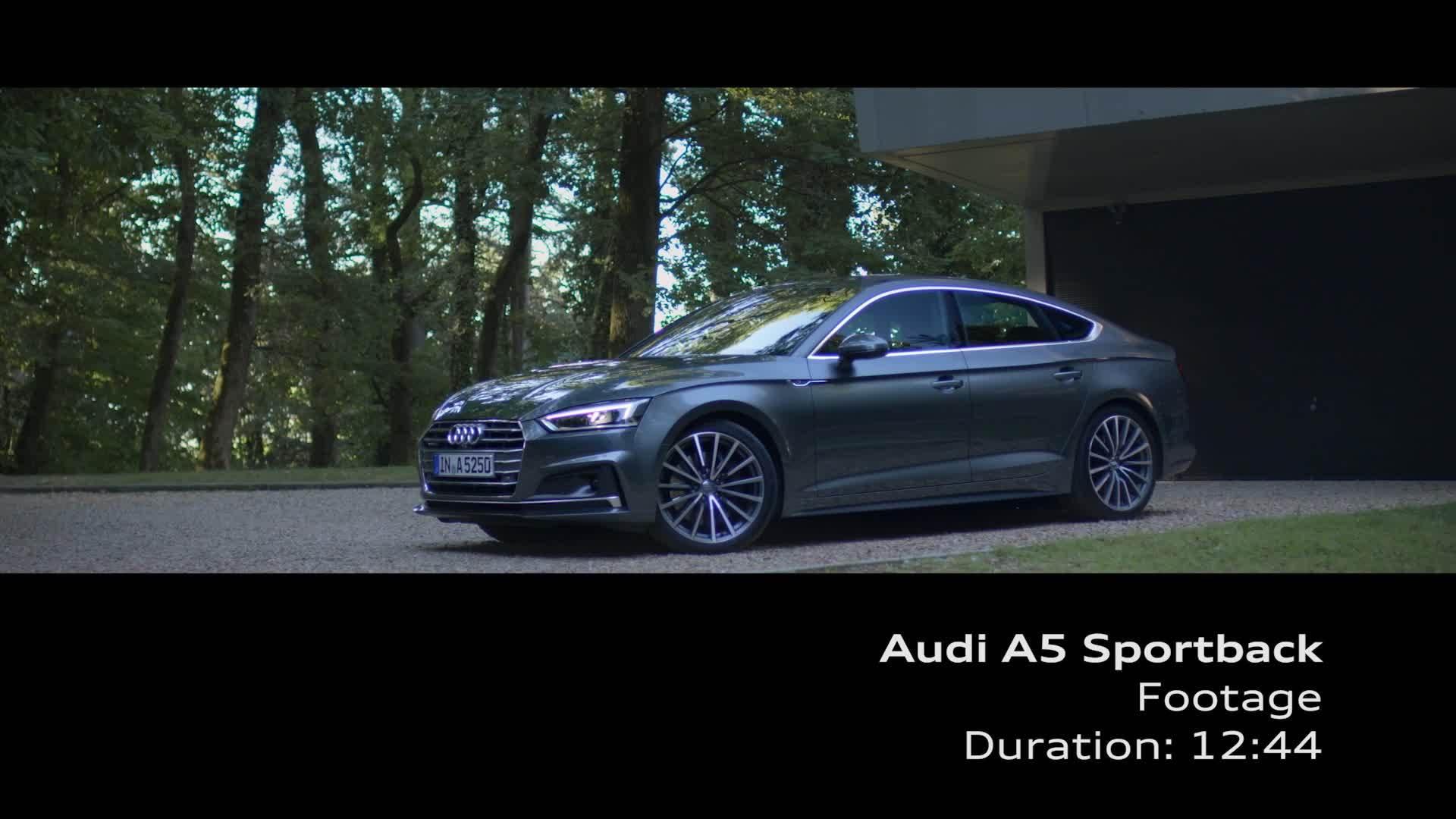 Audi A5 Sportback - Footage
