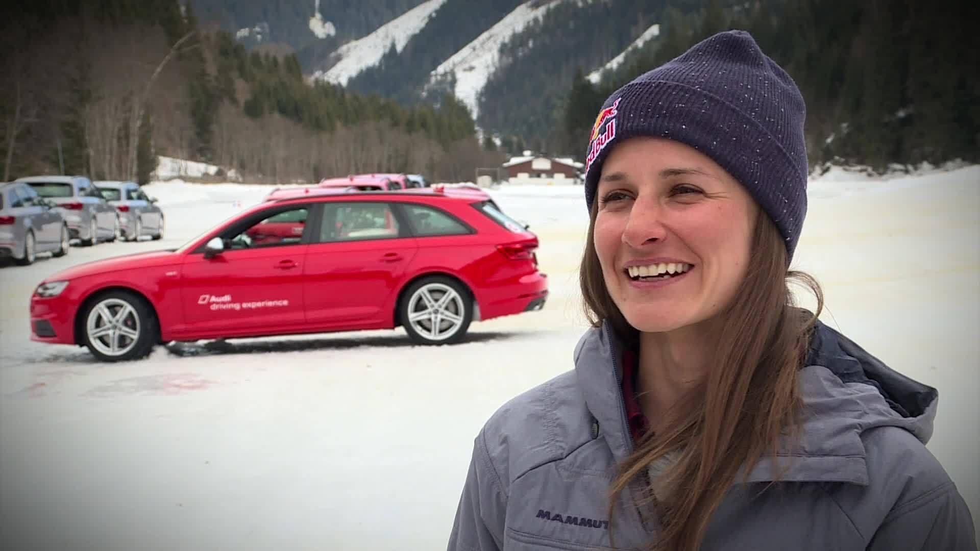 Drifts statt Cliffs - Freerider bei Audi driving experience