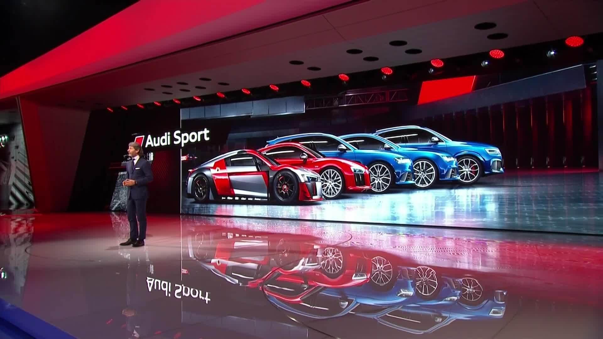 Sportliche Aussichten: Audi Sport auf dem Genfer Salon