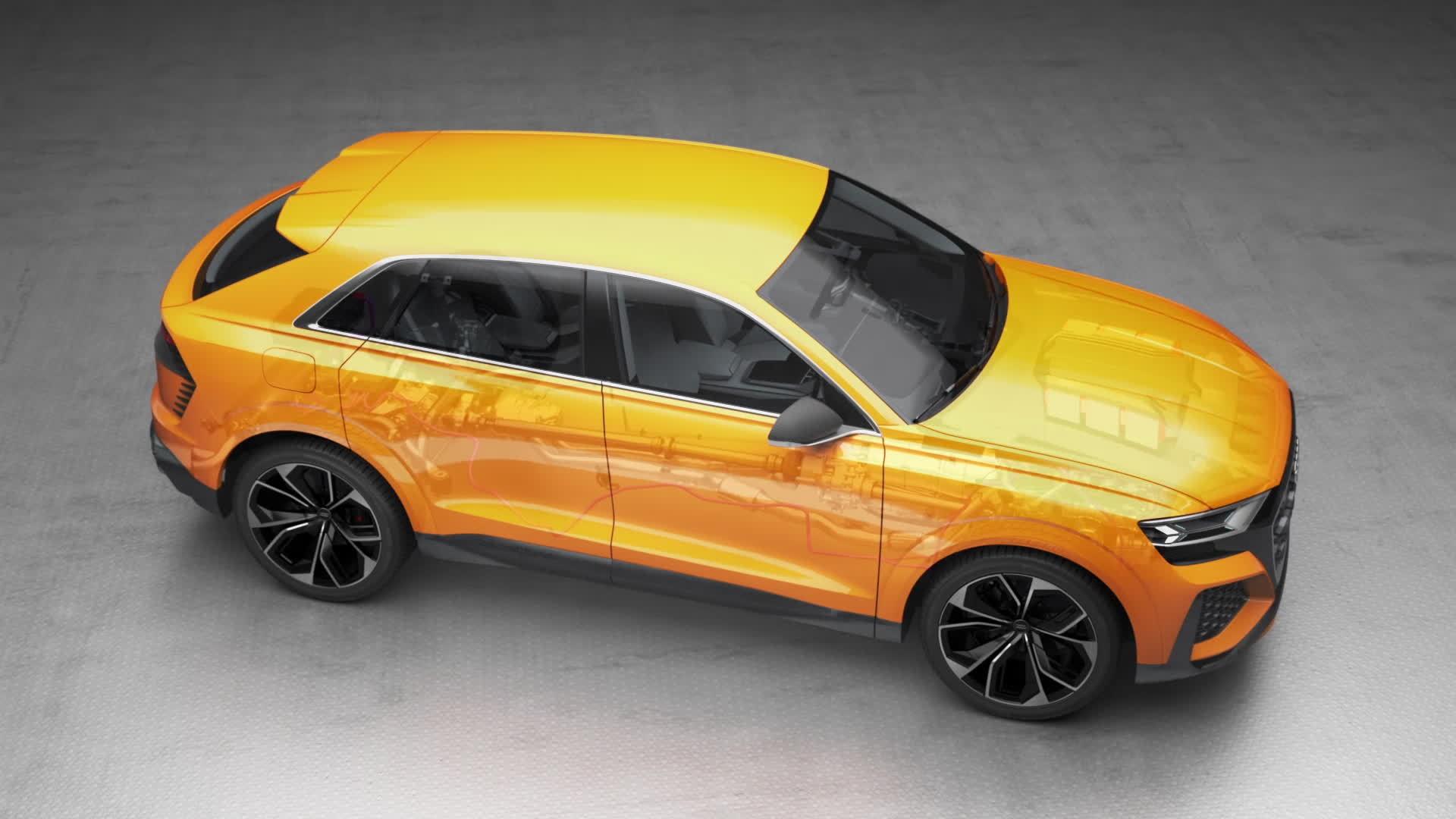 Audi Q8 sport concept - Animation